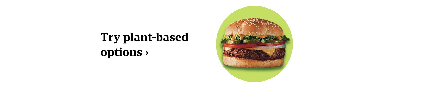 Try plant-based options