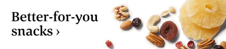 Better-for-you snacks ›