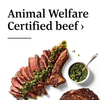 Animal Welfare Certified beef >