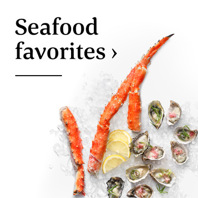 Seafood favorites >