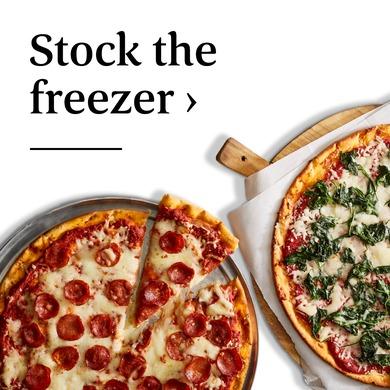 Stock the freezer ›