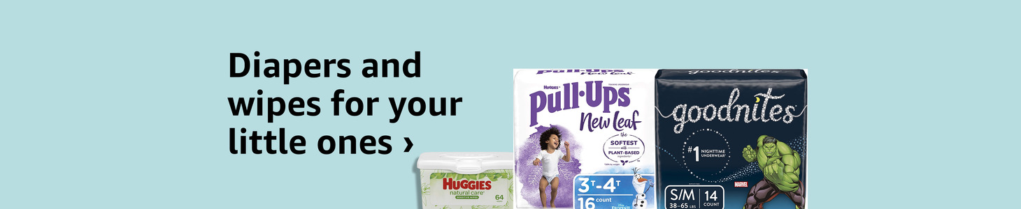 Diapers and wipes for your little ones ›
