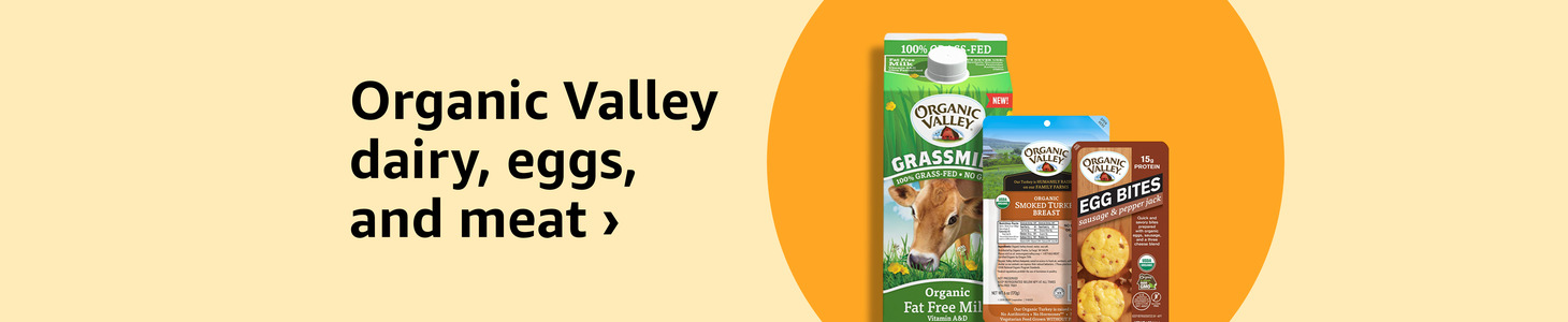 Organic Valley dairy, eggs, and meat