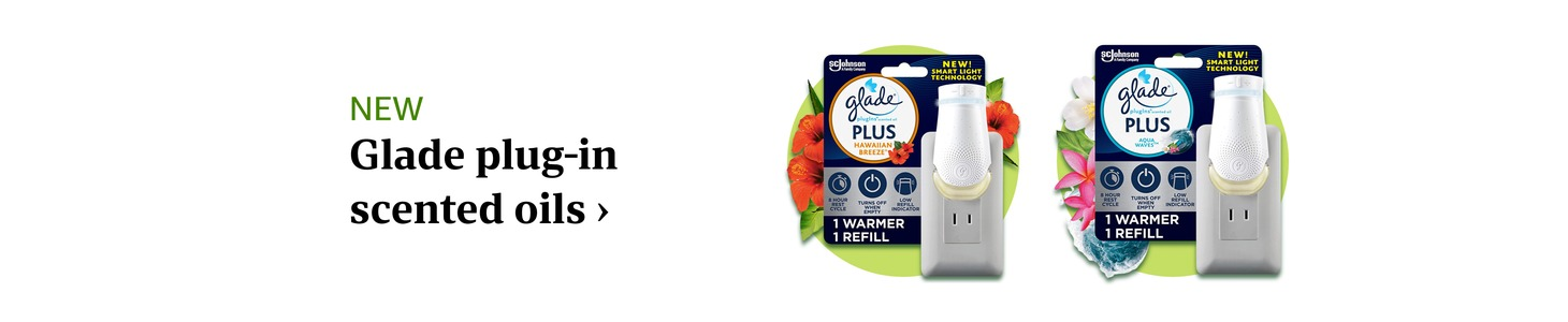 Glade plug-in scented oils