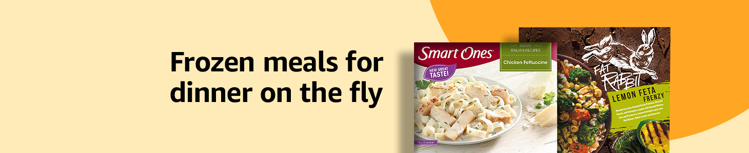 Frozen meals for dinner on the fly