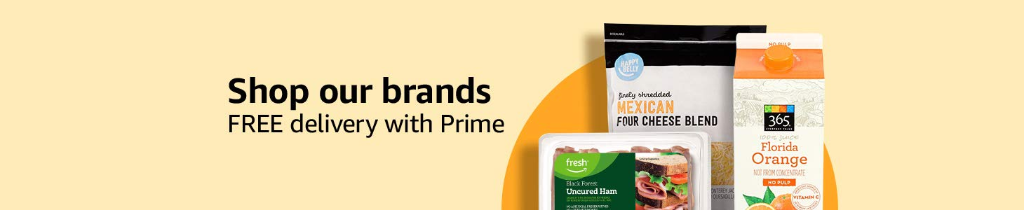 Shop our brands. FREE delivery with Prime