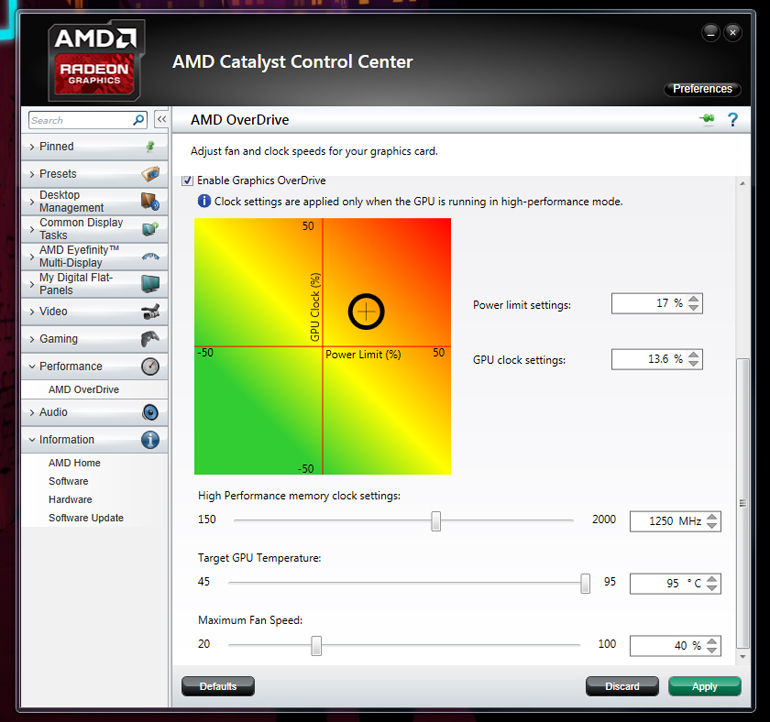 amd graphics overclocking software