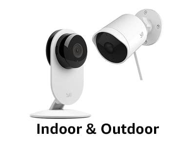 Indoor & outdoor security camera