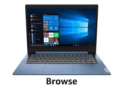 Browse laptop