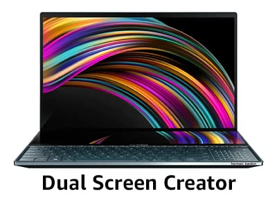 Dual Screen Creator laptop