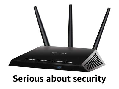 Serious about security router