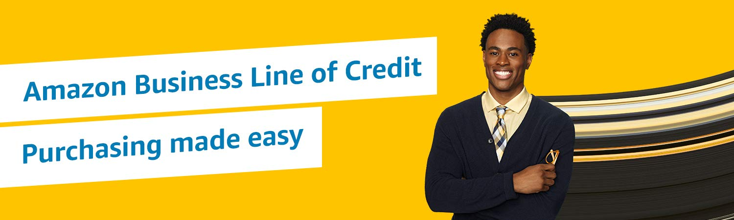 Amazon Business Line of Credit. Simplified purchasing.