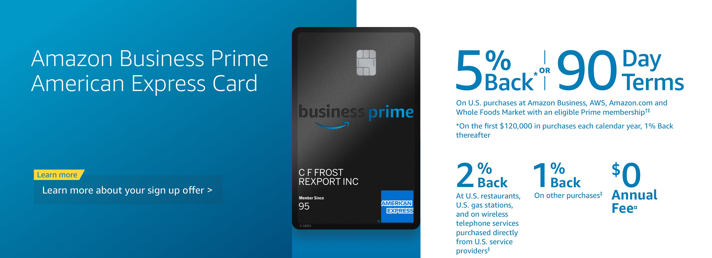 Amazon Business Card @ Amazon.com