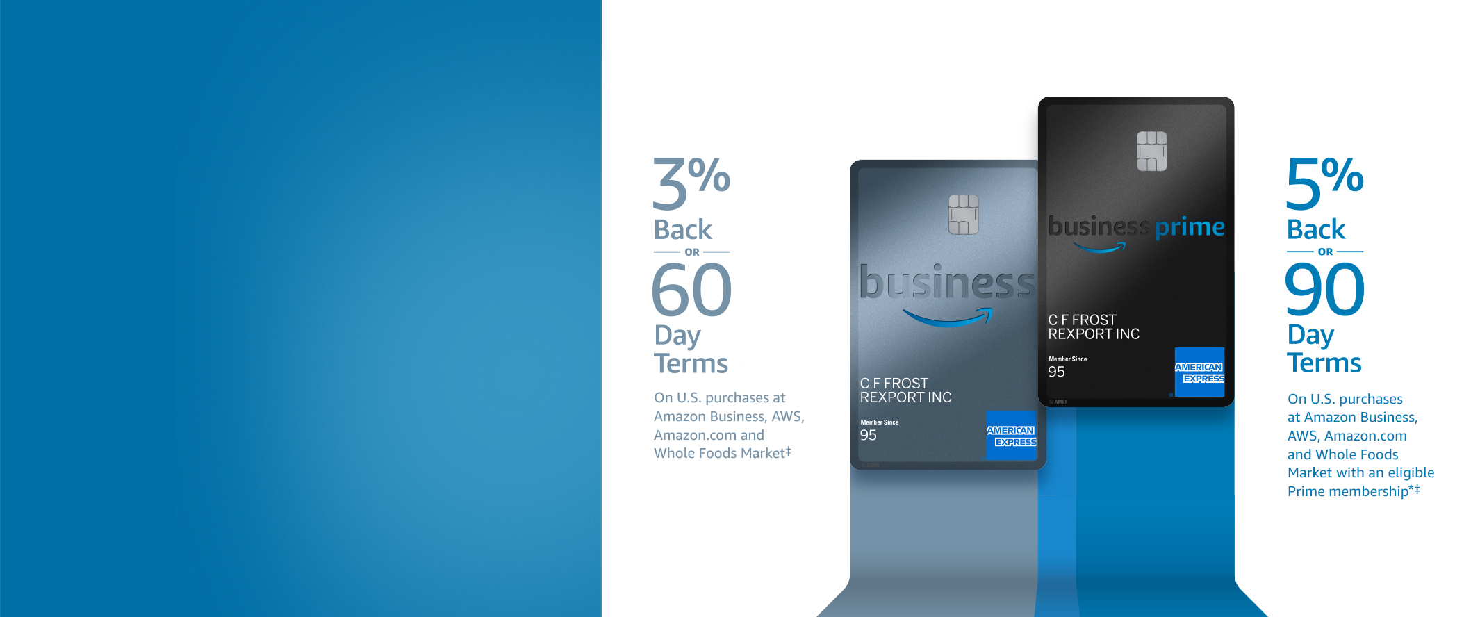 Amazon Amazon Business American Express Card Credit Card Offers