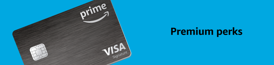 Amazon amazon prime rewards visa signature card credit card offers premium perks reheart Images