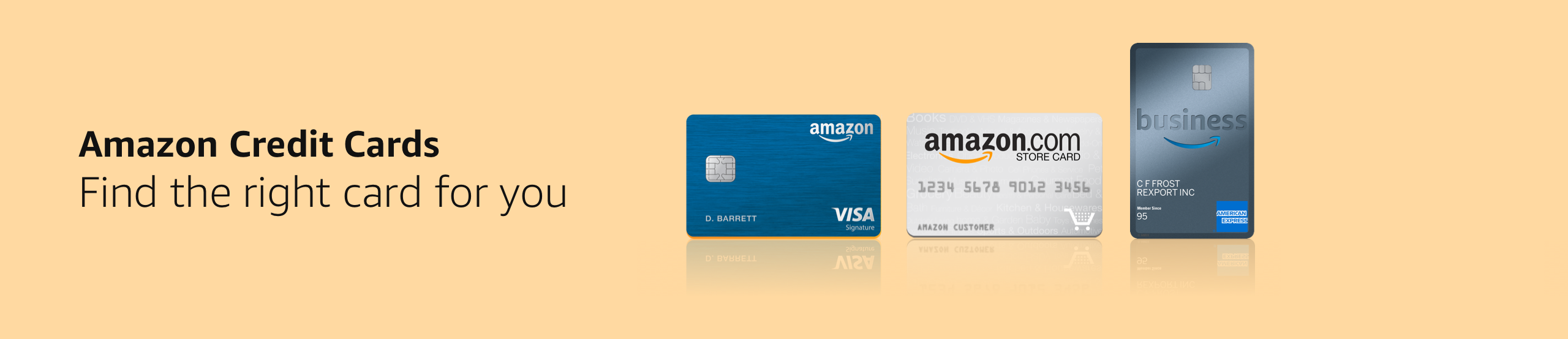 Amazon.com: Credit Cards: Credit & Payment Cards