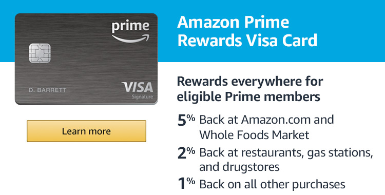 Amazon Prime Rewards Visa Card