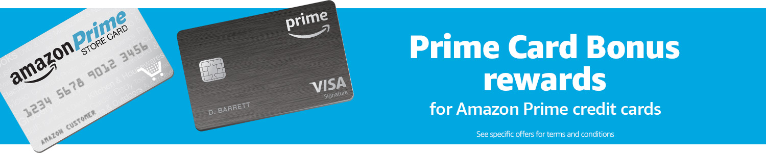 AmazonCom Bonus Offers With The Amazon Prime Store Card Credit