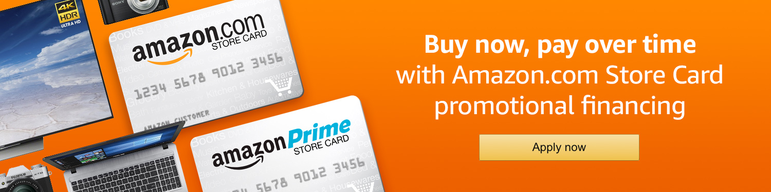 AmazonCom Promotional Financing With The Amazon Store Card