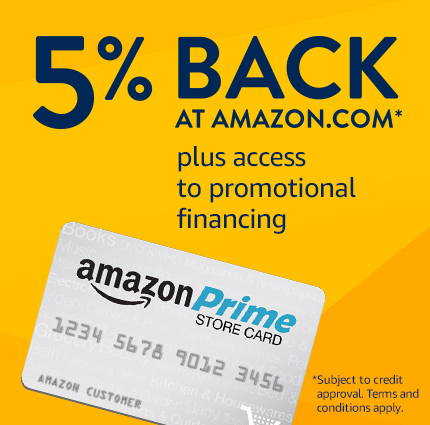 5% back at Amazon.com