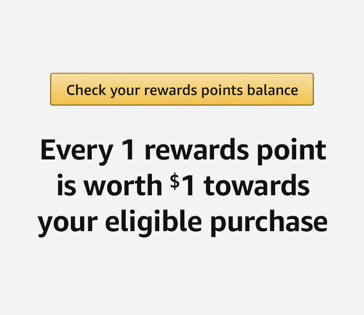 Check your rewards points balance