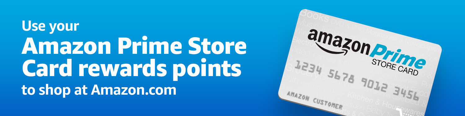 Use your Amazon Store Card rewards points to shop at Amazon.com