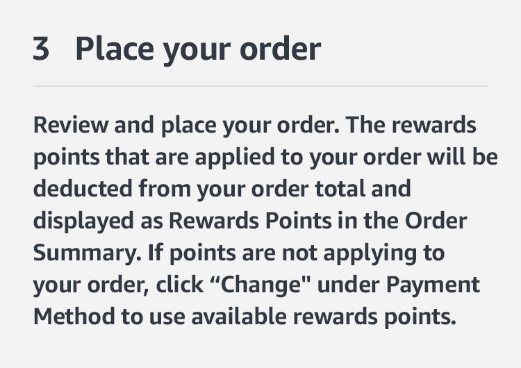 Review order