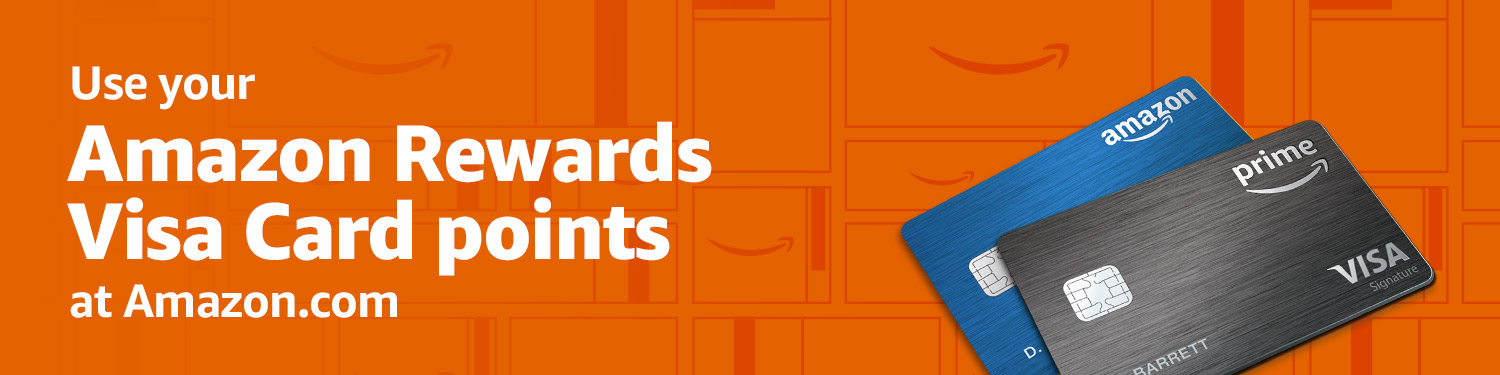 Pay with Amazon Rewards Visa Signature Card rewards points at Amazon.com