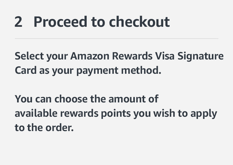 Link your Amazon Rewards Visa Signature Card