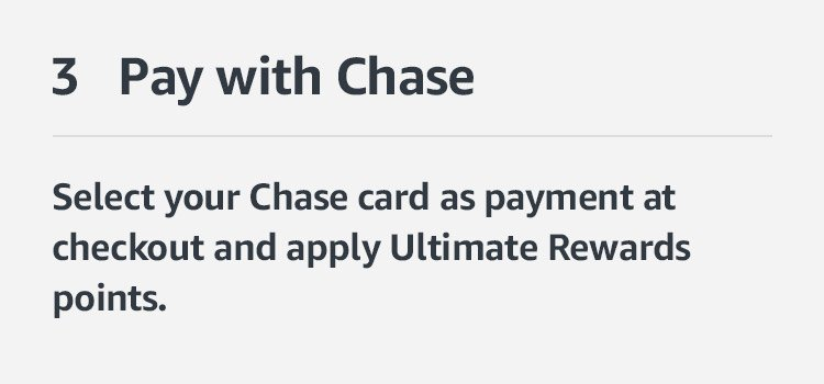 Use your Ultimate Rewards points