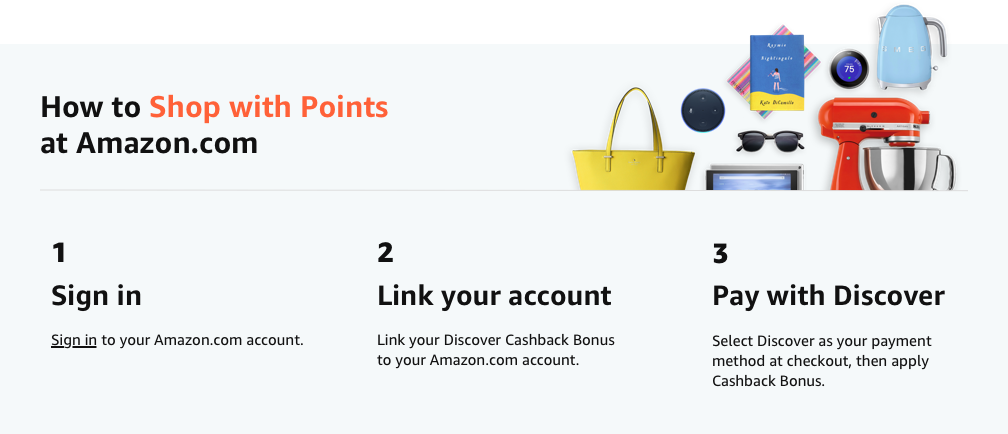 Amazon.com: Shop With Points - Discover: Financial Product