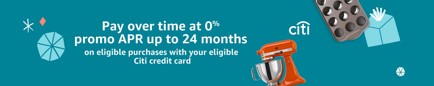 Pay over time at 0% promo APR up to 24 months on eligible purchases