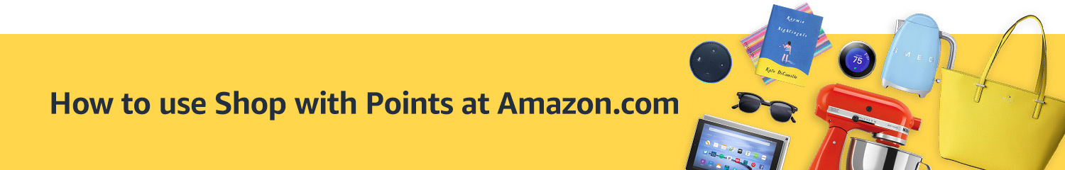How to use Shop with Points at Amazon.com