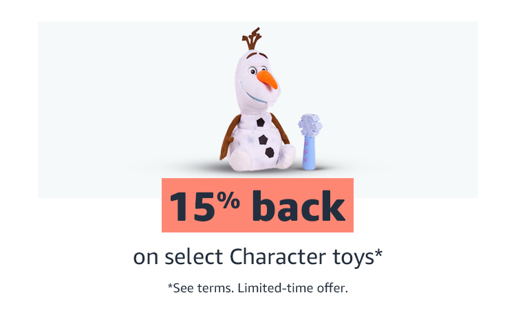 15% back on select Califco Critter toys* See terms limited time offer.