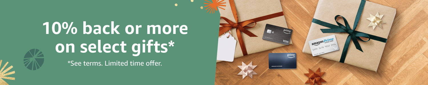 10% back or more on select gifts* Check out exclusive offers below