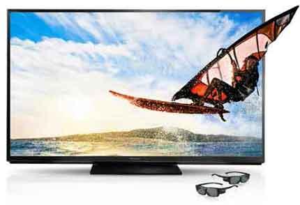 sharp 80 flat panel tv aquos quattron 3d. Full HD Active 3D Sharp 80 Flat Panel Tv Aquos Quattron 3d