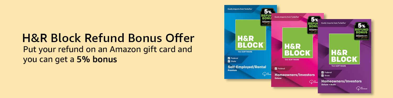 HRB Retail Bonus Offer