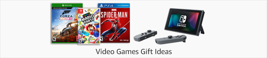 Video Games Gift Ideas
