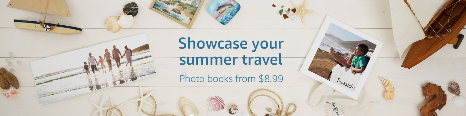 Showcase your summer travel: Photo books from $8.99