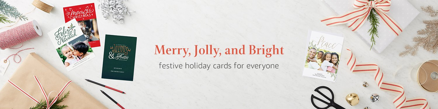 Merry, Jolly, and Bright: Festive holiday cards for everyone