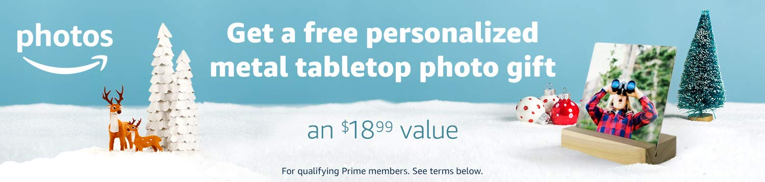 Celebrate Prime Day with a free custom photo plaque