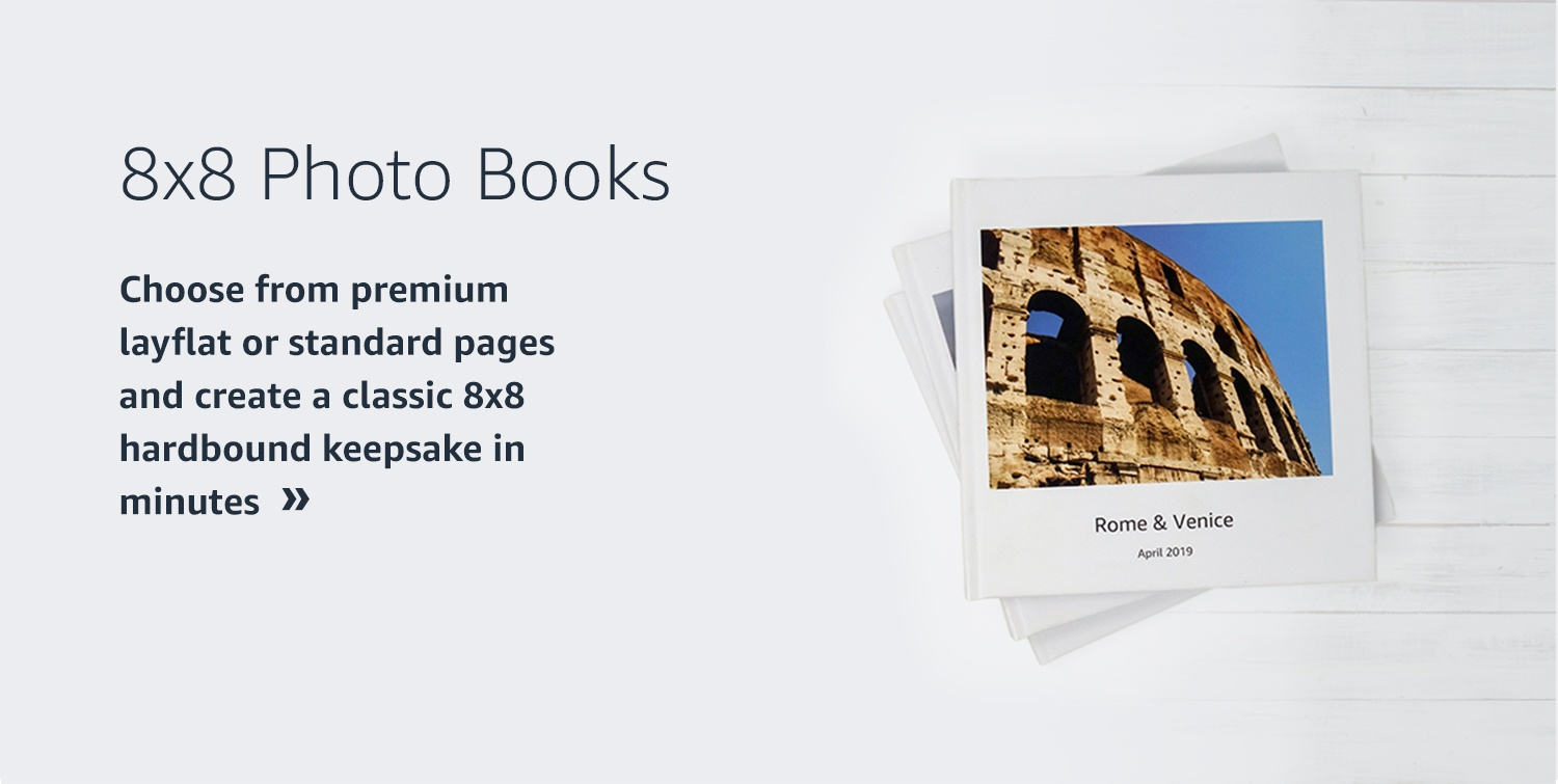 8x8 Photo Books