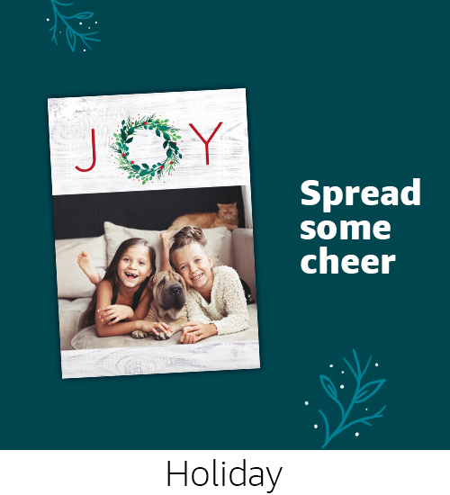 Cards | Spread custom cheer with Holiday photo cards