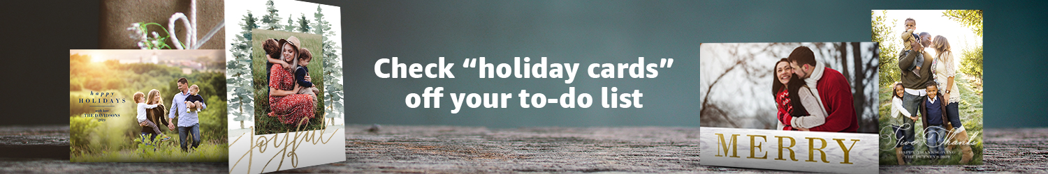 """Check """"holiday cards"""" off your to-do list"""
