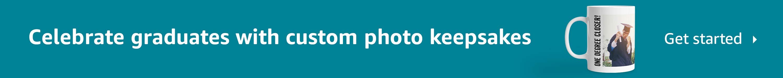 Celebrate graduates with custom photo keepsakes