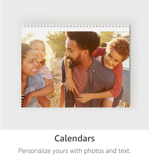Calendars | Personalize yours with photos and text.