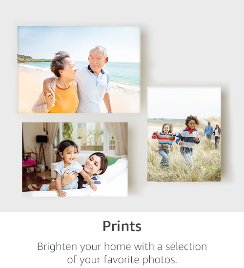 Prints, From Standard Sizes to Large | Brighten your home with a selection of your favorite photos.