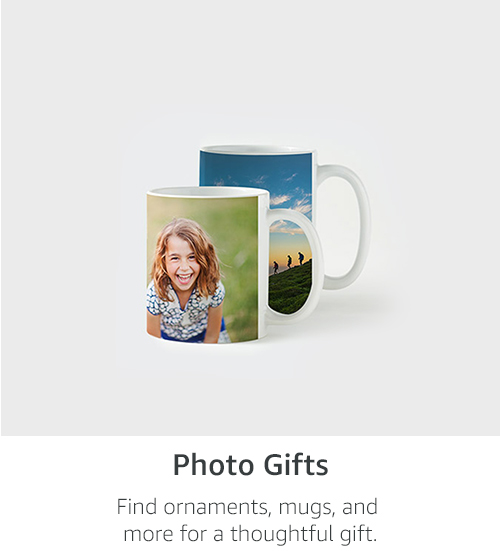 Photo Gifts | Find ornaments, mugs, and more to add a personal touch to the perfect gift.