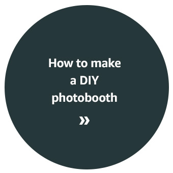How to make a DIY photobooth