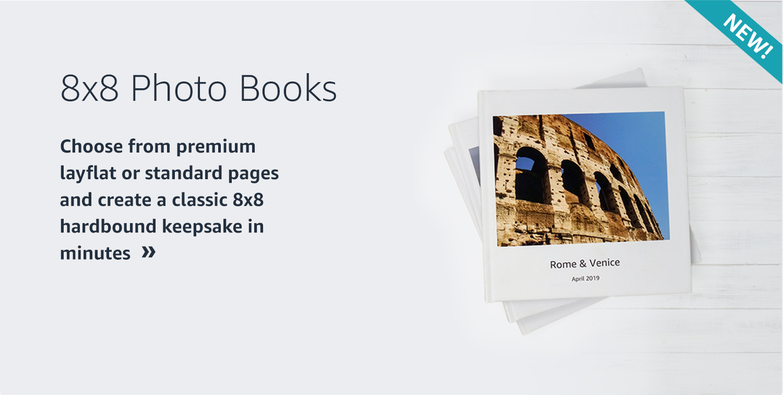 8x8 Photo Books